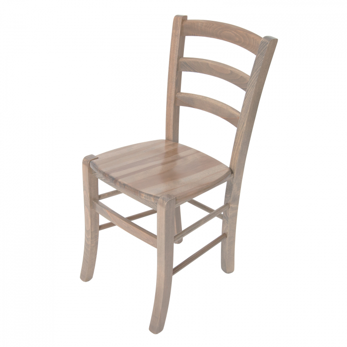 Scaun din lemn Venetia masiv maro-trufa [6]