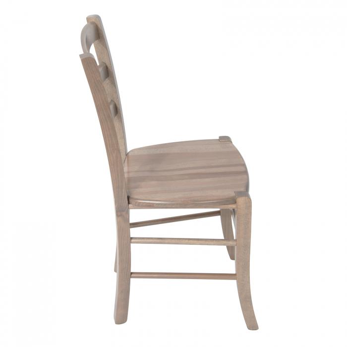 Scaun din lemn Venetia masiv maro-trufa [1]