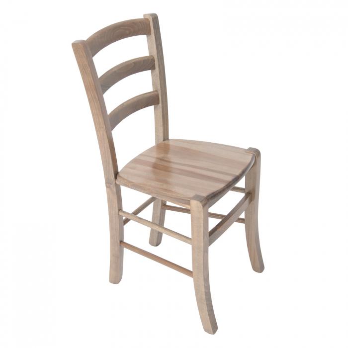 Scaun din lemn Venetia masiv maro-trufa [0]