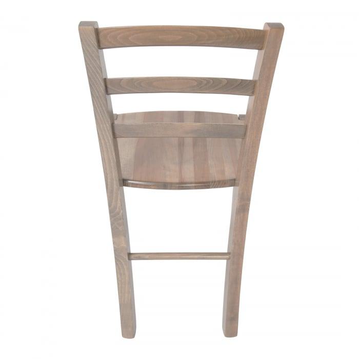Scaun din lemn Venetia masiv maro-trufa [3]