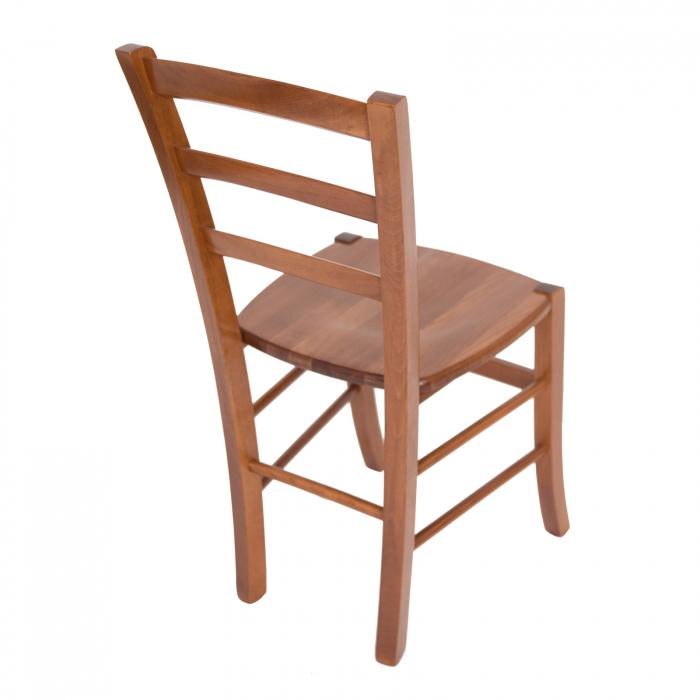 Scaun din lemn Venetia masiv nuc [2]
