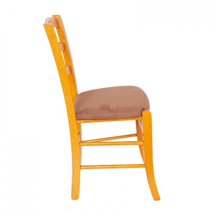 Scaun din lemn Venetia tapitat cires [1]