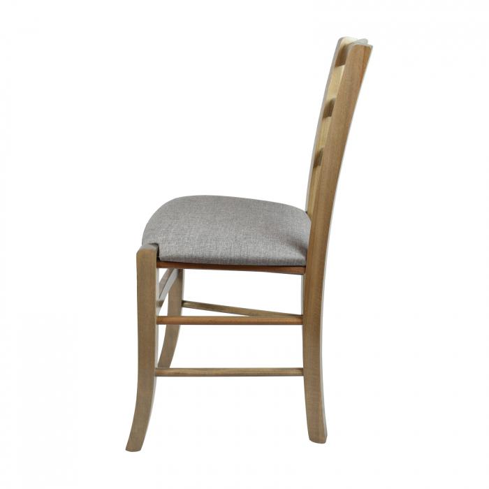 Scaun din lemn Venetia tapitat maro-trufa [1]