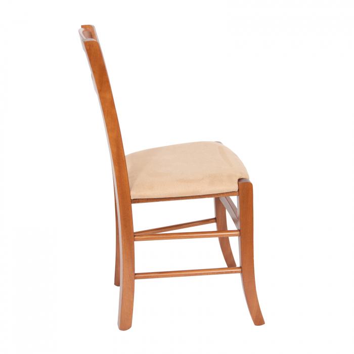 Scaun din lemn Venetia tapitat nuc [1]