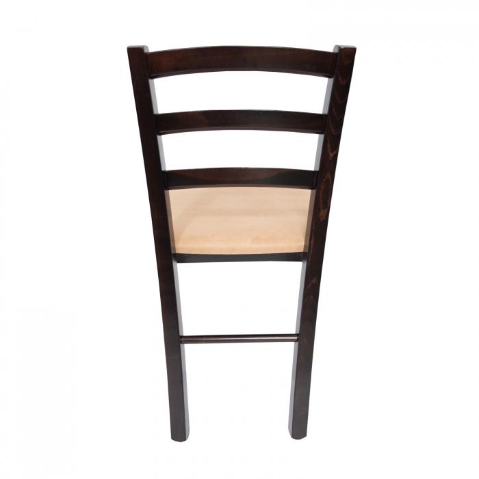 Scaun din lemn Venetia tapitat wenge [3]