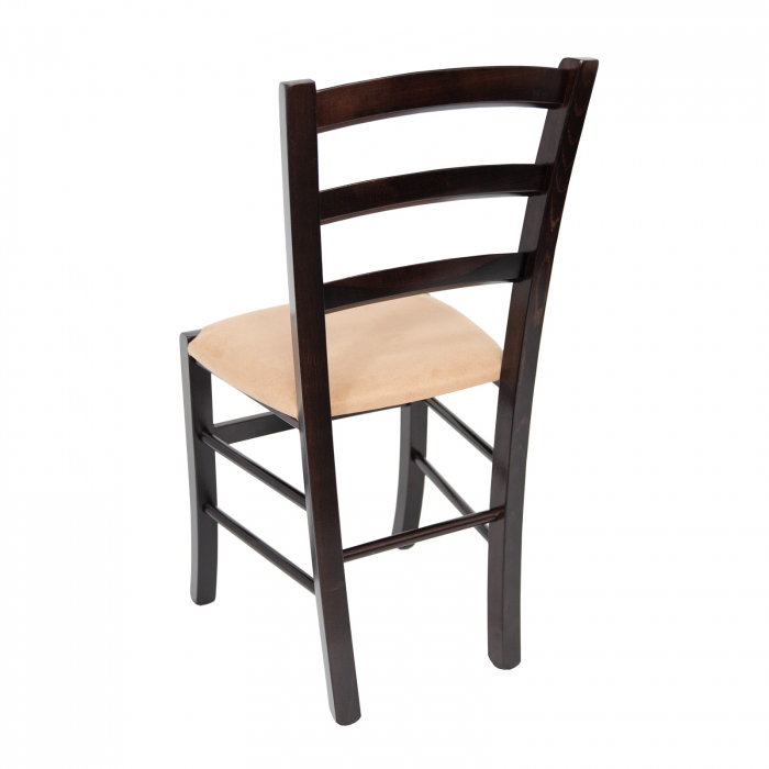 Scaun din lemn Venetia tapitat wenge [4]