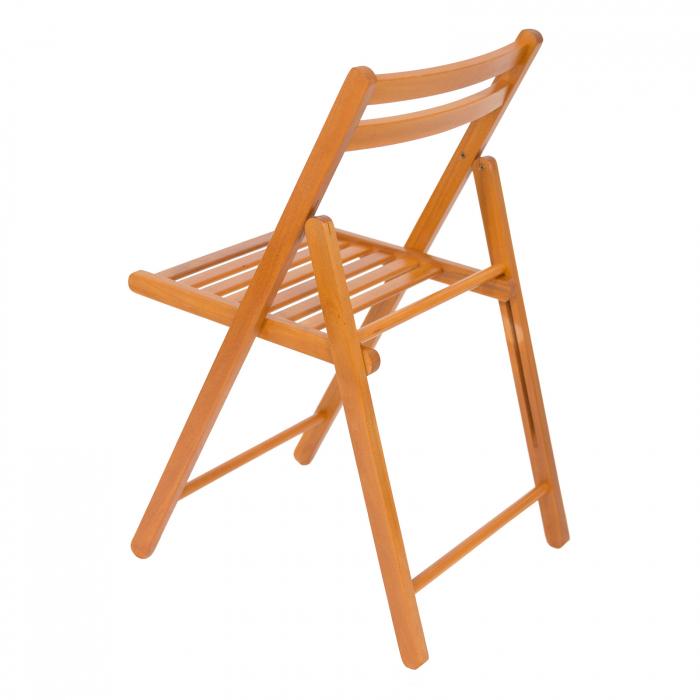 Scaun pliant din lemn IGOR cires [4]
