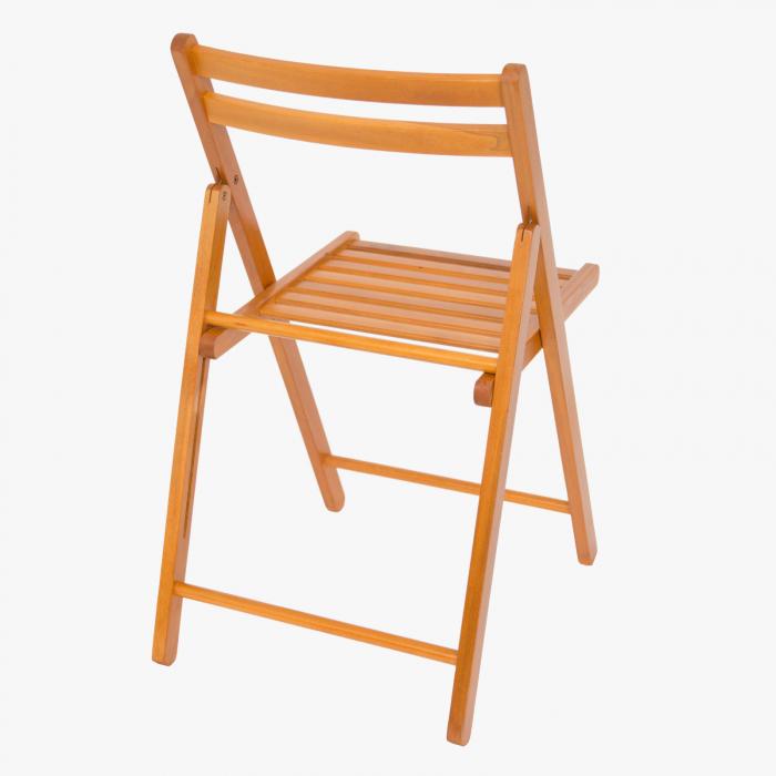 Scaun pliant din lemn IGOR cires [2]