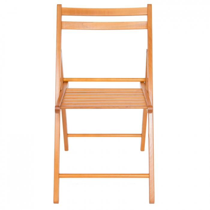 Scaun pliant din lemn IGOR cires [7]