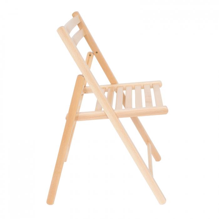 Scaun pliant din lemn IGOR natur [2]