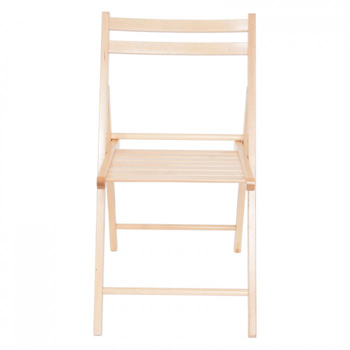 Scaun pliant din lemn IGOR natur [8]