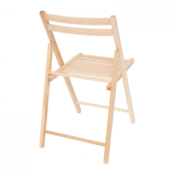 Scaun pliant din lemn IGOR natur [3]