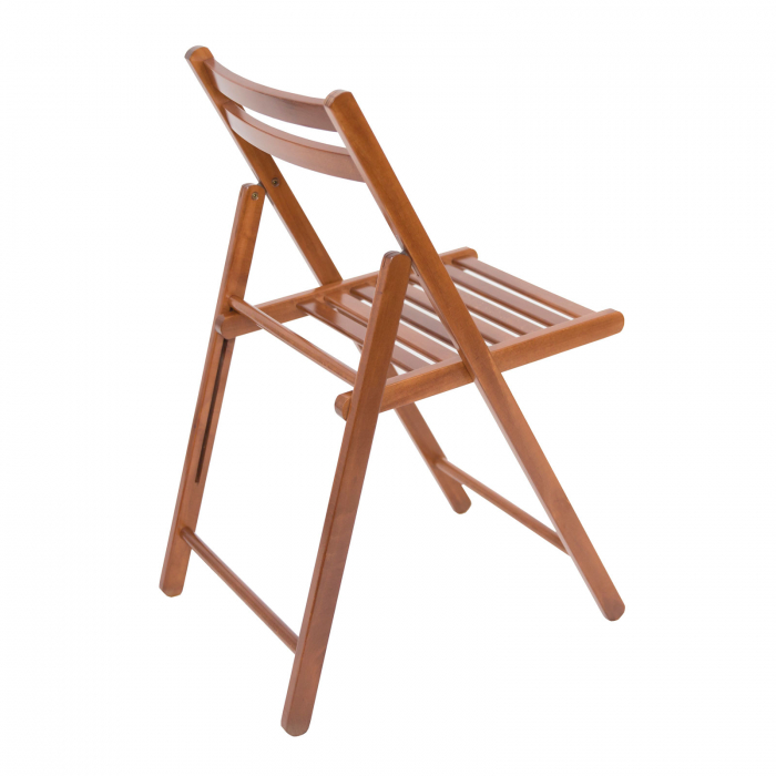 Scaun pliant din lemn IGOR nuc [3]