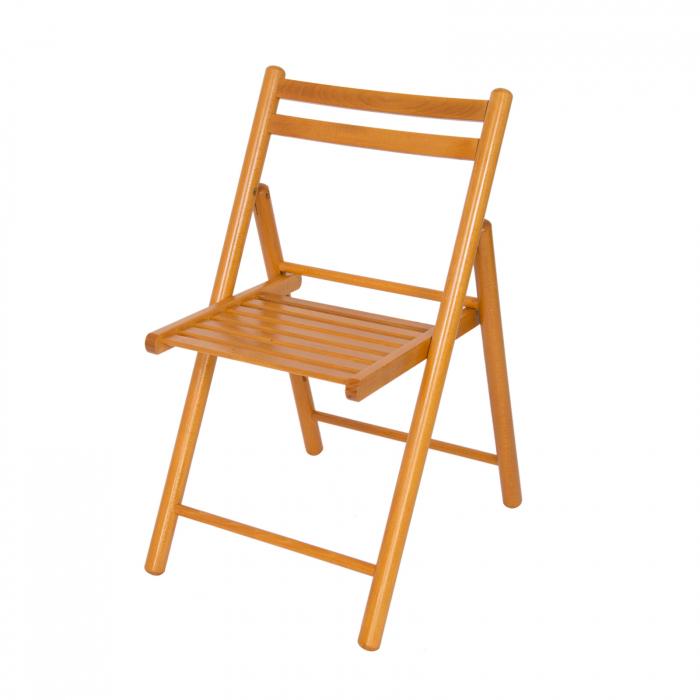 Scaun pliant din lemn IGOR R cires [4]