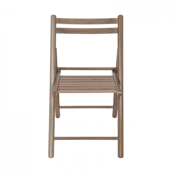 Scaun pliant din lemn IGOR R maro-trufa [5]