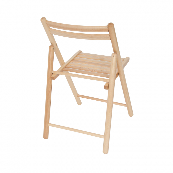 Scaun pliant din lemn IGOR R natur [2]
