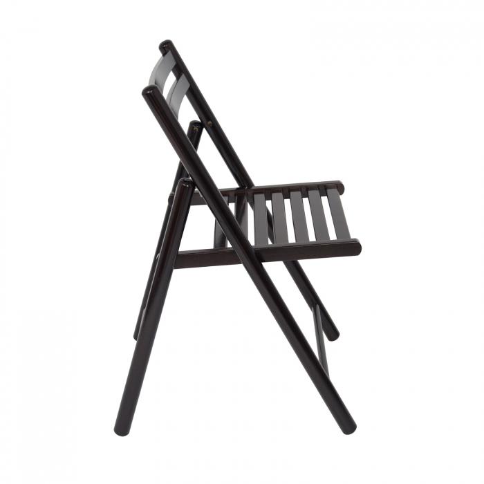 Scaun pliant din lemn IGOR R wenge [1]