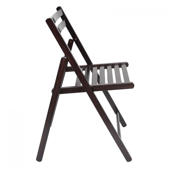 Scaun pliant din lemn IGOR wenge [1]
