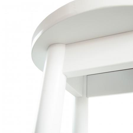Scaun din lemn BAR alb [3]