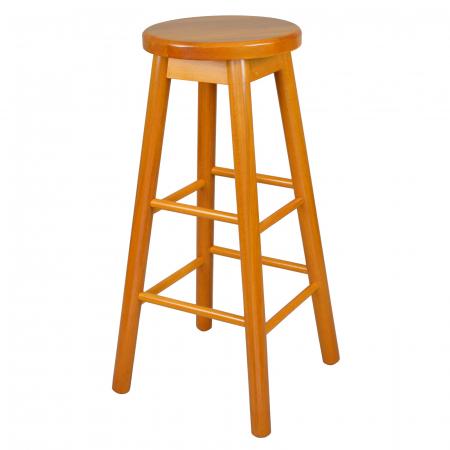 Scaun din lemn BAR cires [0]