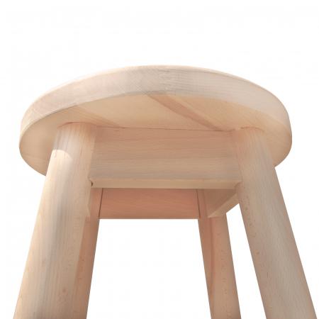 Scaun din lemn BAR crud [1]