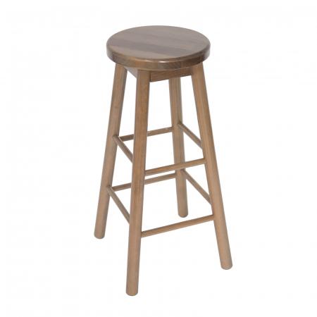 Scaun din lemn BAR maro-trufa [0]