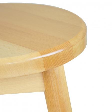 Scaun din lemn BAR natur [2]