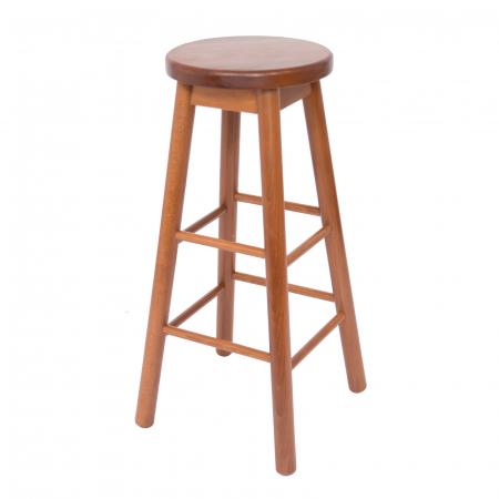 Scaun din lemn BAR nuc [1]