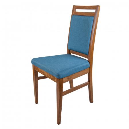 Scaun din lemn Jane tapitat nuc [6]