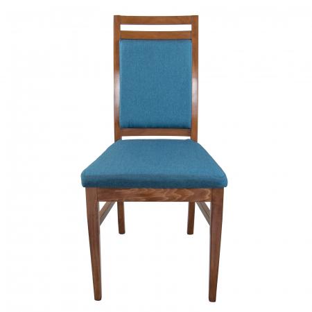 Scaun din lemn Jane tapitat nuc [7]