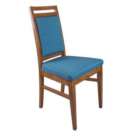 Scaun din lemn Jane tapitat nuc [0]