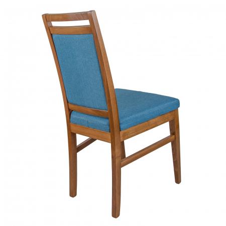 Scaun din lemn Jane tapitat nuc [2]