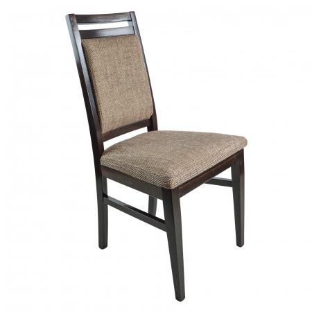 Scaun din lemn Jane tapitat wenge [0]