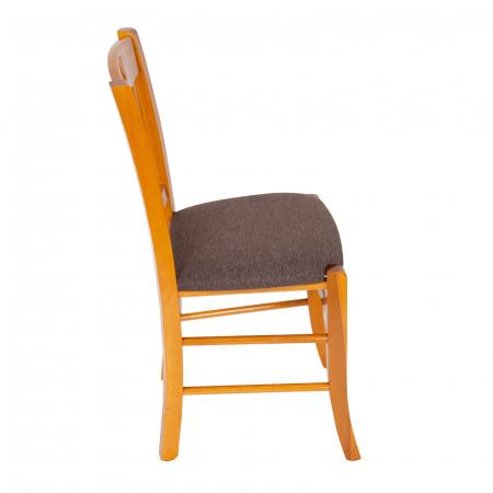 Scaun din lemn Madeira tapitat cires [1]