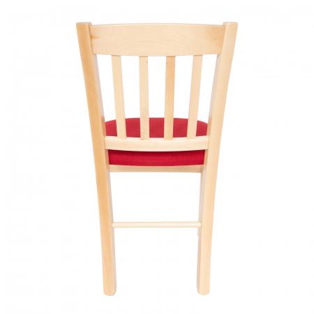 Scaun din lemn Madeira tapitat natur [3]