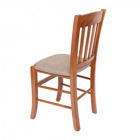 Scaun din lemn Madeira tapitat nuc [4]