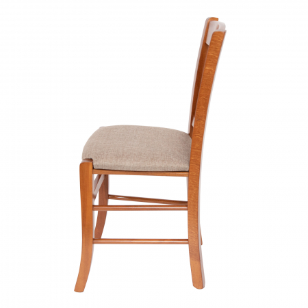 Scaun din lemn Madeira tapitat nuc [5]