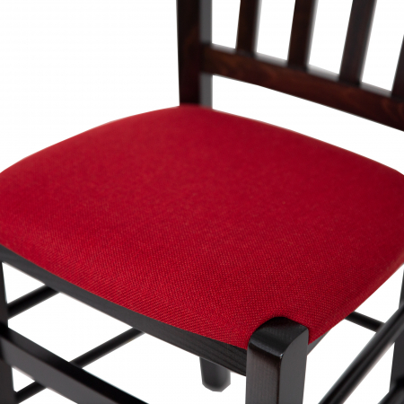 Scaun din lemn Madeira tapitat wenge [8]