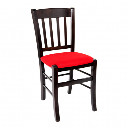 Scaun din lemn Madeira tapitat wenge [0]
