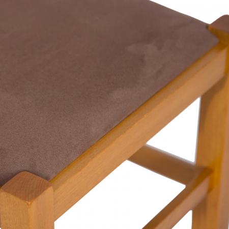 Scaun din lemn Pisa tapitat cires [8]