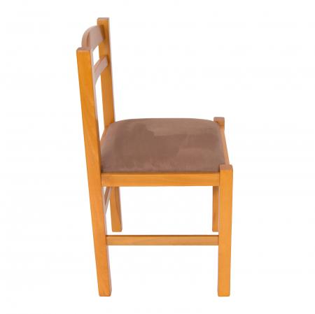 Scaun din lemn Pisa tapitat cires [1]