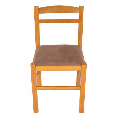 Scaun din lemn Pisa tapitat cires [7]