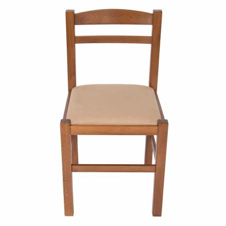Scaun din lemn Pisa tapitat nuc [7]