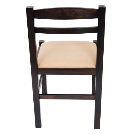 Scaun din lemn Pisa tapitat wenge [3]