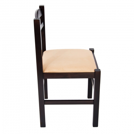 Scaun din lemn Pisa tapitat wenge [1]