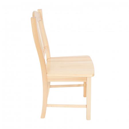 Scaun din lemn Silvana masiv natur [1]