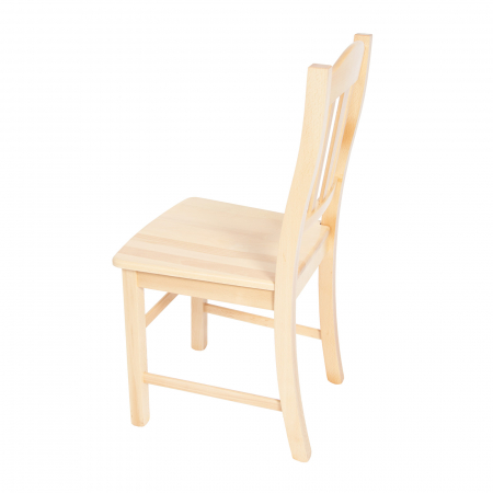 Scaun din lemn Silvana masiv natur [3]