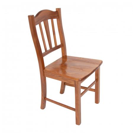 Scaun din lemn Silvana masiv nuc [0]