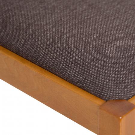 Scaun din lemn Silvana tapitat cires [7]
