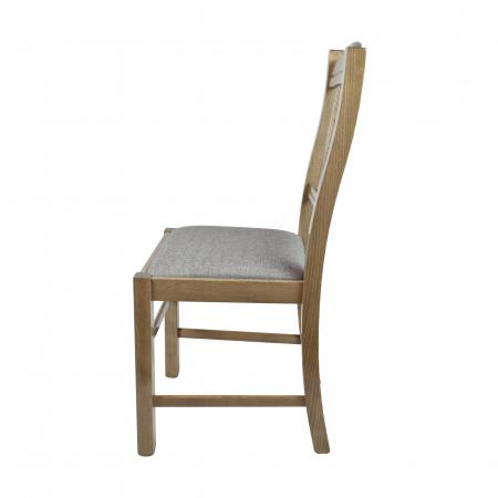 Scaun din lemn Silvana tapitat maro-trufa [1]